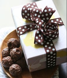 Gift wrapping ideas for store-bought treats