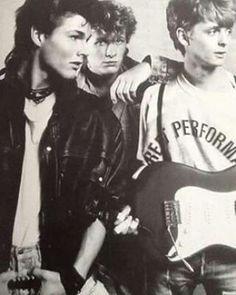A-ha  (Morten Harket, Magne Furuholmen, Pål Waaktaar-Savoy) early days 80s-90s, A-ha forever