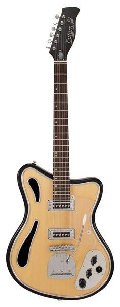 Eastwood Saturn 63 Guitar Natural | Rainbow Guitars