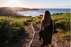 Killalea beach. NSW, Australia. Part of the Sydney to Melbourne coastal drive. East Coast road trip.