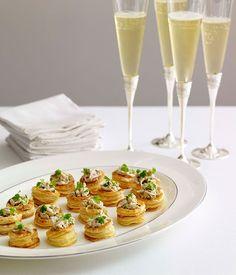Champagne chicken vol-au-vents :: Gourmet Traveller Magazine Mobile