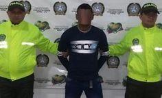 Policia Capturo a el negro correa presunto integrante del clan del golfo.