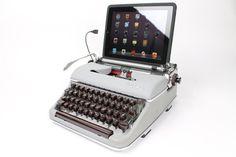 Typewriter Computer Keyboard / iPad Stand (Model SM)