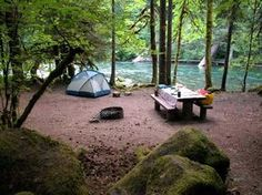 Best Campgrounds in Oregon. Paradise in Oregon – Blue River Oregon Camping, Camping Diy, Oregon Road Trip, Camping Places, Camping Spots, Oregon Travel, Camping And Hiking, Outdoor Camping, Travel Usa