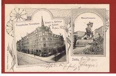 Alte AK Stettin Szczecin Polen Evangelisches Vereinshaus Mannzelbrunnen 1911   eBay