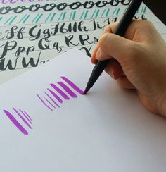 Brush lettering is an easy and rewarding hobby that can help you improve your daily handwriting and allow you to create beautiful decorations and gifts. Learn the basics of beginner brush lettering and see what a joy it can be for you!