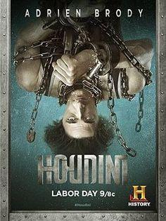 «Гудини» (англ. Houdini) — драматический трех-часовой мини-сериал телеканала History, премьера которого состоялась 1 сентября 2014 года в День труда (США). Сериал рассказывает историю жизни, от отчаянной бедности в молодости до всемирной славы, легендарного иллюзиониста и исполнителя побегов Гарри Гудини, роль которого исполнил обладатель премии «Оскар» Эдриен Броуди[1].