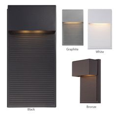 LightKulture.com - Hiline WS-W2308 - LED Outdoor Wall Sconce | Modern Forms, Email or Call to Order (http://www.lightkulture.com/hiline-ws-w2308-led-outdoor-wall-sconce-modern-forms/)