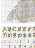 Gallery.ru / Фото #4 - boda1 - anacris133 Alphabet And Numbers, Hand Stitching, Cross Stitch Patterns, Diy And Crafts, Stitches, Free Pattern, Wedding, Life, Grooms