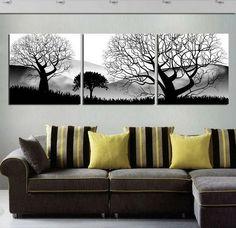 Large Wall Art Trees Prints Canvas Tree Print by SurprisePrints, $39.00