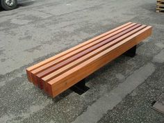 Blueton Limited - The new name in street furniture - Ref 086.01sst stainless steel & timber bench