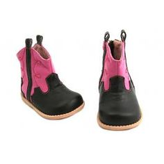 Love these! Livie & Luca Buck Boot Fuschia, for the small one :)