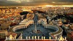 Vatican in sunset.. by Γιάν νης, via 500px