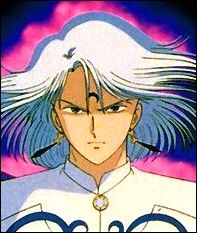 Prince Diamond kissing Sailor Moon | Prince Diamond - my first white-haired obsession