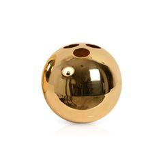 ORB  Colour:   Gold Finish:   Brass Size:   Large Height 180 mm Diameter 180 mm   Small Height 110mm Diameter 110mm.#auralondon #aura-id #aura #interiors #interiordesign