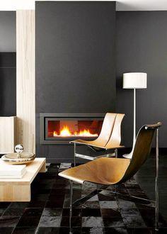 Black and Tan Living Room