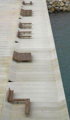 A Coruña, Spain  Harbour Remodelling – Malpica  Creus y Carrasco Arquitectos