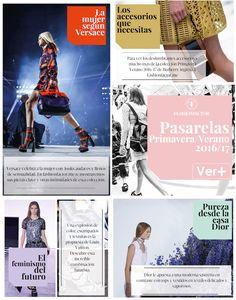 Conoce y diviértete con las tendencias Primavera-Verano 2016. Un colorido innovador desde las propuestas de Versace,Burberry, Luis Vuitton y Dior.