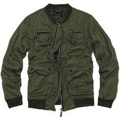 KAMAIN-J Shop | Rakuten Global Market: AVH 1ST lining キルティングナイロン jumper jacket ☆ メンズカーキ black black black, brother of beautiful series メンズモダ