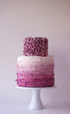 """Amazing color and texture make this cake absolutely stunning.    The Cafe """"Hearts"""" Maggie Austin Cake - The Bride's Cafe"""