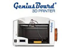 GeniusBoard® 3D Printer  GeniusBoard® 3D Printer è la stampante 3D italiana dentro e fuori; frutto di oltre un anno di ricerca e sviluppo. Design, Sicurezza assoluta, Soluzioni tecniche all'avanguardia. Una Stampante 3D completamente Made in Italy!
