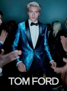 CR Fashion Book - TOM FORD'S SPRING 2016 CAMPAIGN