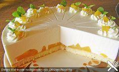 Quark - Pfirsich - Sahne - Torte