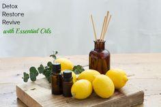 Detox Restore Revive with Essential Oils