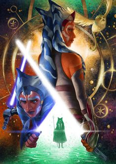 Star Wars Rebels, Star Wars Clone Wars, Star Wars Art, Vintage Illustration Art, Illustration Art Drawing, Illustrations, Star Wars Books, Star Wars Characters, Fictional Characters