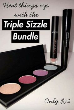 Heat Things Up Younique's #March Customer #Kudos #TripleSizzle 3 Products For You  The Colors You Crave ❤ Build Your Own #Custom #Quad Palette with any #Moodstruck Pressed Shadows  Then Make Them Pop With Moodstruck #Epic #Mascara ❣❣❣And Finish The #Look With Your Color Pick Of The Much Loved Moodstruck #Splash #LiquidLipstick #FindMeonFacebook #Love2BYouniquewithSarah & Message Me with your #Younique Questions https://www.youniqueproducts.com/prettylittlelayersbysarah/