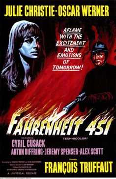 The movie many were looking forward going to see fall of 1966 was the new Francois Truffaut film Farenheit 451 -- the mid 60s foreign films were attracting lots of viewers