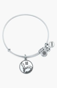 Alex and Ani 'Pisces' Adjustable Wire Bangle | Nordstrom