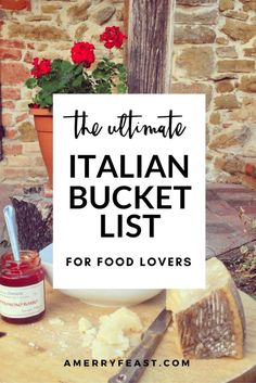 Italy Travel Tips: Our Ultimate Italian Bucket list for Food Lovers. A list of delicious foods to taste and food and wine experiences to have no matter where you are in Italy! Milan Food, Cinque Terre, Italy Vacation, Italy Trip, Italy Italy, European Vacation, Italy Food, Italy Honeymoon, Sorrento Italy