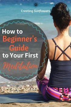 A simple guide to beginner meditation. Use meditation techniques to reduce stress and be calm.  #mindfulness #meditationtips #breathing