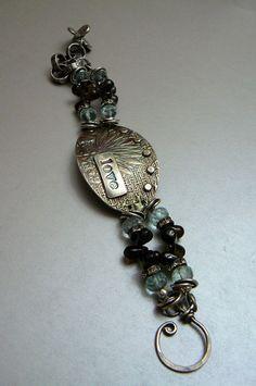 Love Buckle Bracelet with Fine Silver Sterling