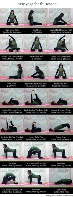Low intensity yoga sequence for opening different parts of the body. Not bad, might try again.