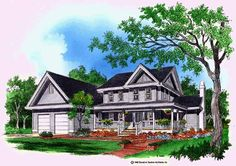 Eplans Farmhouse House Plan - An Up-To-Date Plan - 2023 Square Feet and 4 Bedrooms from Eplans - House Plan Code HWEPL07261