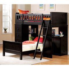Gambar Tempat Tidur Tingkat Dengan Meja Klasik » Gambar 8545