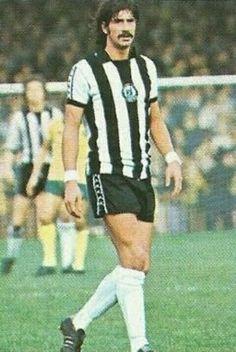 Paul Cannell of Newcastle Utd in 1976.