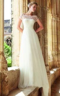 свадебное платье в стиле бохо Mar
