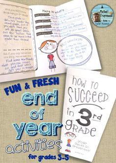 6 fun and fresh End-of-Year activities! Grades3-5 ($)