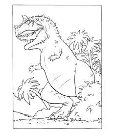 Angry Dinosaur in the jungle color page. Animal coloring pages. Coloring pages for kids. Thousands of free printable coloring pages for kids! Elephant Coloring Page, Dinosaur Coloring Pages, Preschool Coloring Pages, Animal Coloring Pages, Free Printable Coloring Pages, Super Coloring Pages, Coloring Pages For Boys, The Good Dinosaur, Boy Coloring