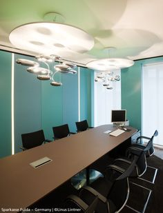 #Mercury suspensions in this meeting room, #design Ross Lovegrove