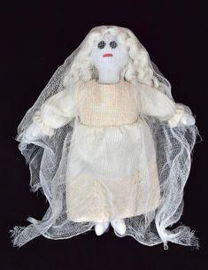 Halloween Ghost Doll - Halloween Decor For Kids / Adults - Handmade