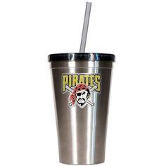 Pittsburgh Pirates Silver Tumbler