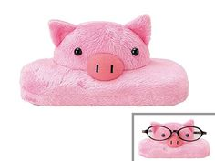 viva7 | Rakuten Global Market: ★ 2124 - cute glasses case - pig animal pet glasses eyeglass case makeup accessories to the animal brand new giveaway ★