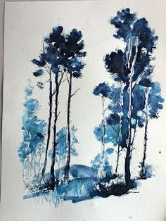 Sketchbook/Indigo Blue   Artist's Journal Workshop