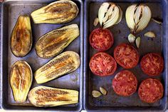 I don't know if I like eggplant enough to go this far, but they do have recipes for eggplant soup, eggplant toasts, Lebanese style eggplants.  They would sound tasty, if I liked eggplant.  I still might need to eat it.