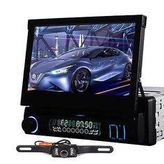gps navigation system 2 din dash car radio stereo cd dvd video mp3 hd new single din 7 car in dash dvd stereo player no gps radio