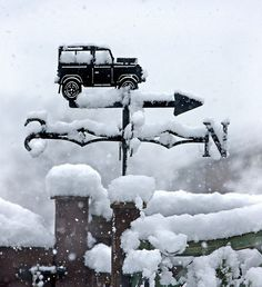 *weathervane - pointing north it's a jeep thing!!!!!